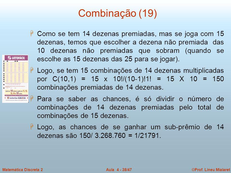 Combinação (19)