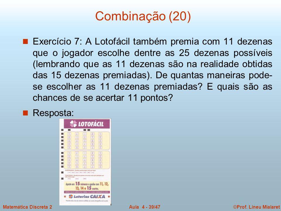 Combinação (20)