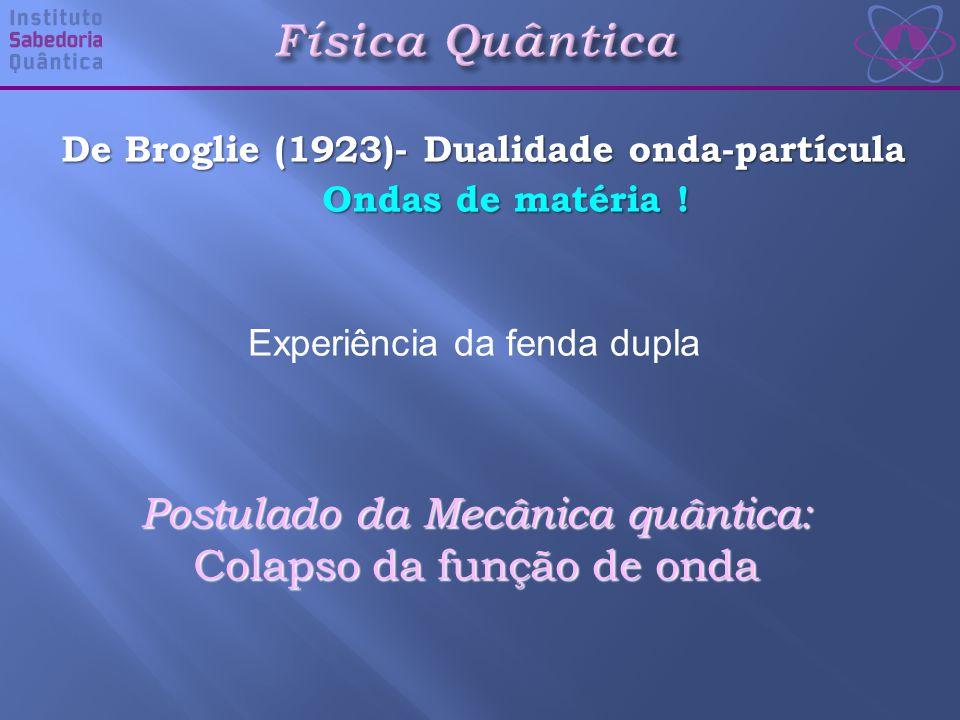 Física Quântica Postulado da Mecânica quântica: