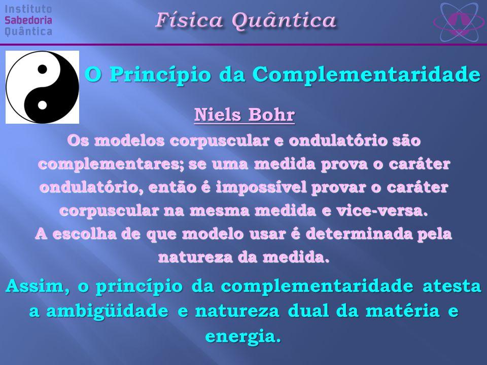 Física Quântica O Princípio da Complementaridade