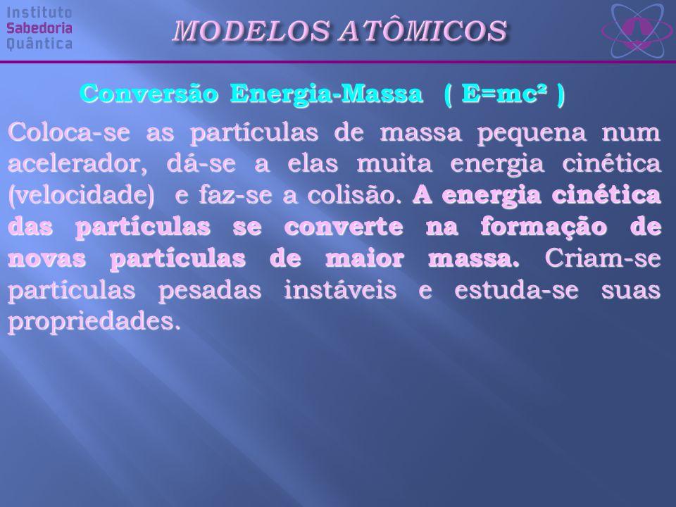 Conversão Energia-Massa ( E=mc² )