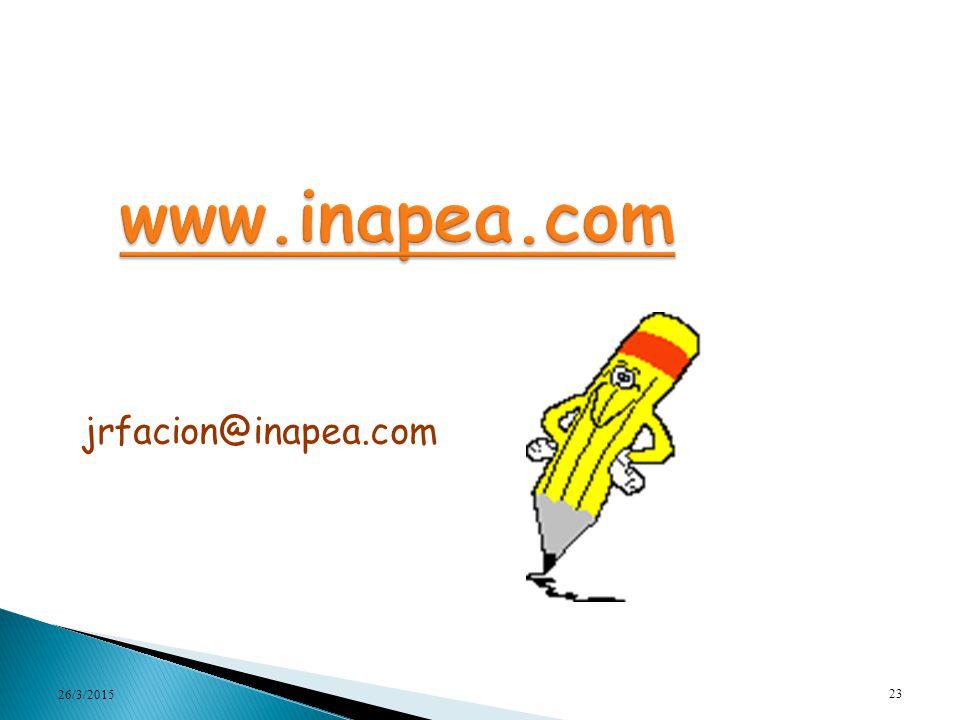 www.inapea.com jrfacion@inapea.com 08/04/2017