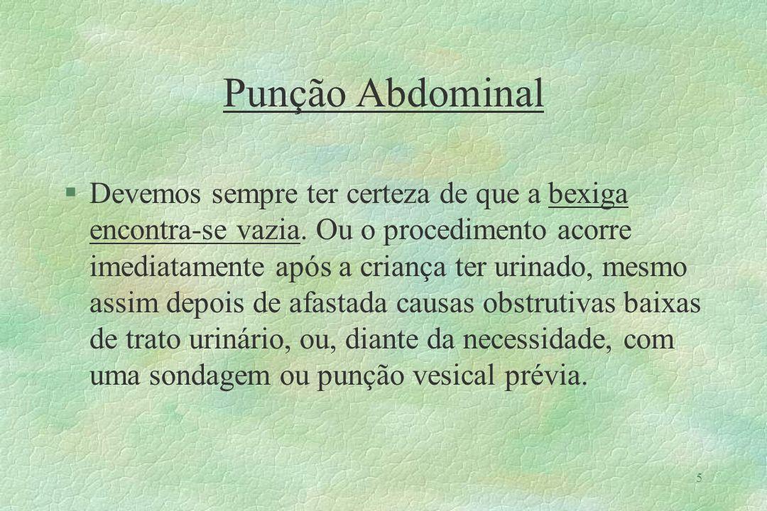 Punção Abdominal