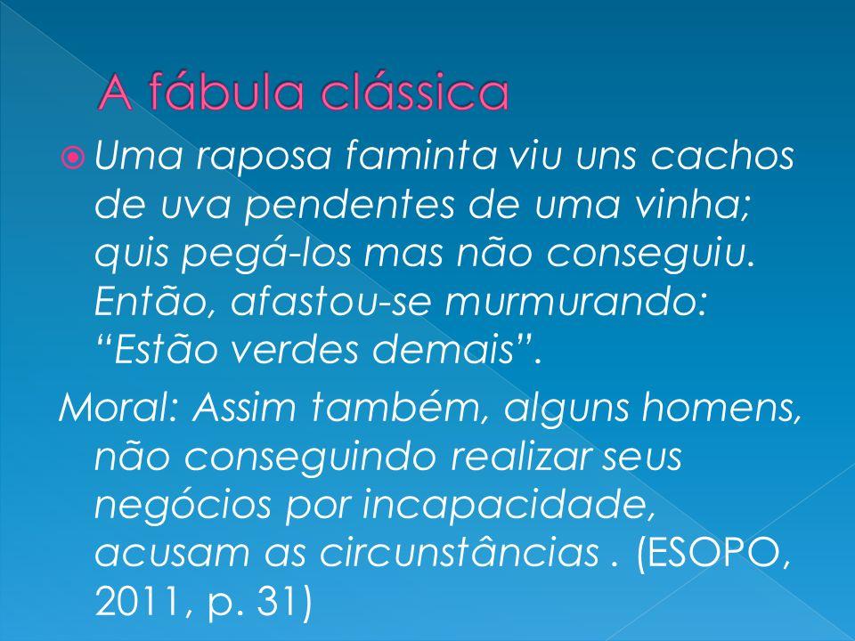 A fábula clássica