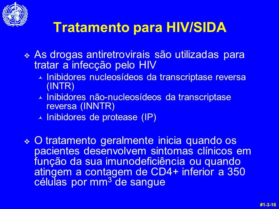 Tratamento para HIV/SIDA