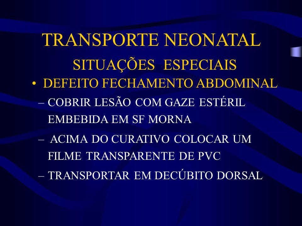 DEFEITO FECHAMENTO ABDOMINAL