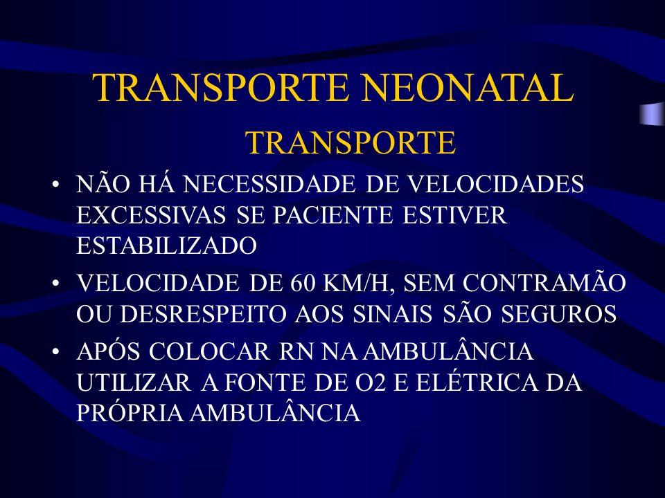 TRANSPORTE NEONATAL TRANSPORTE
