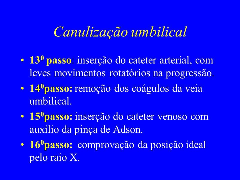 Canulização umbilical