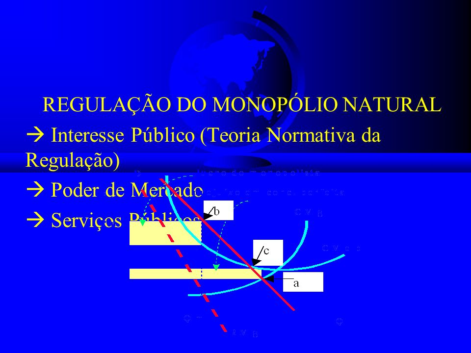 REGULAÇÃO DO MONOPÓLIO NATURAL