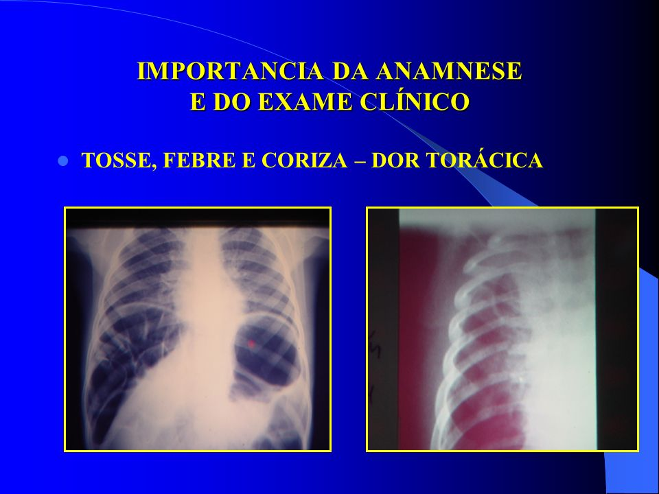 IMPORTANCIA DA ANAMNESE E DO EXAME CLÍNICO