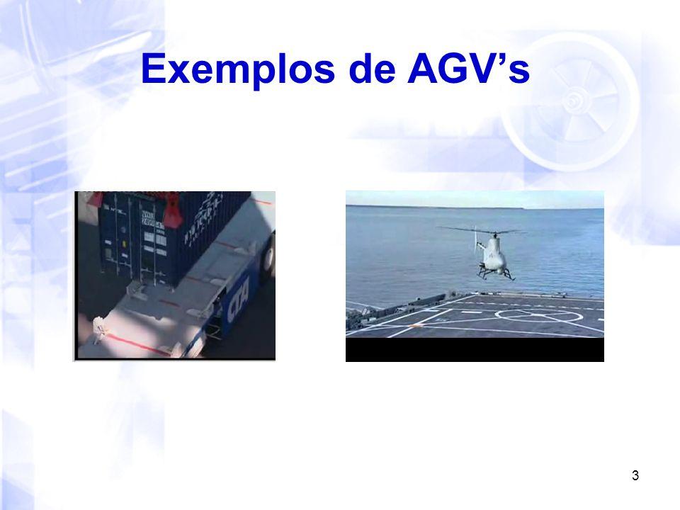 Exemplos de AGV's