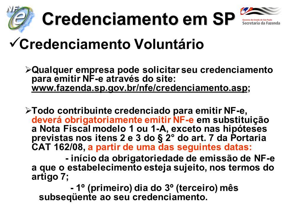 Credenciamento em SP Credenciamento Voluntário