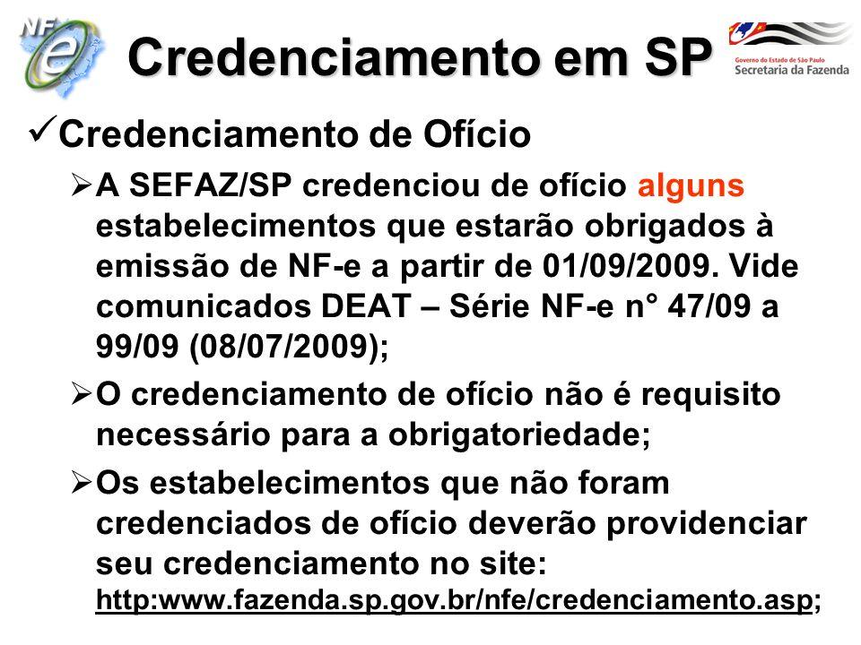 Credenciamento em SP Credenciamento de Ofício