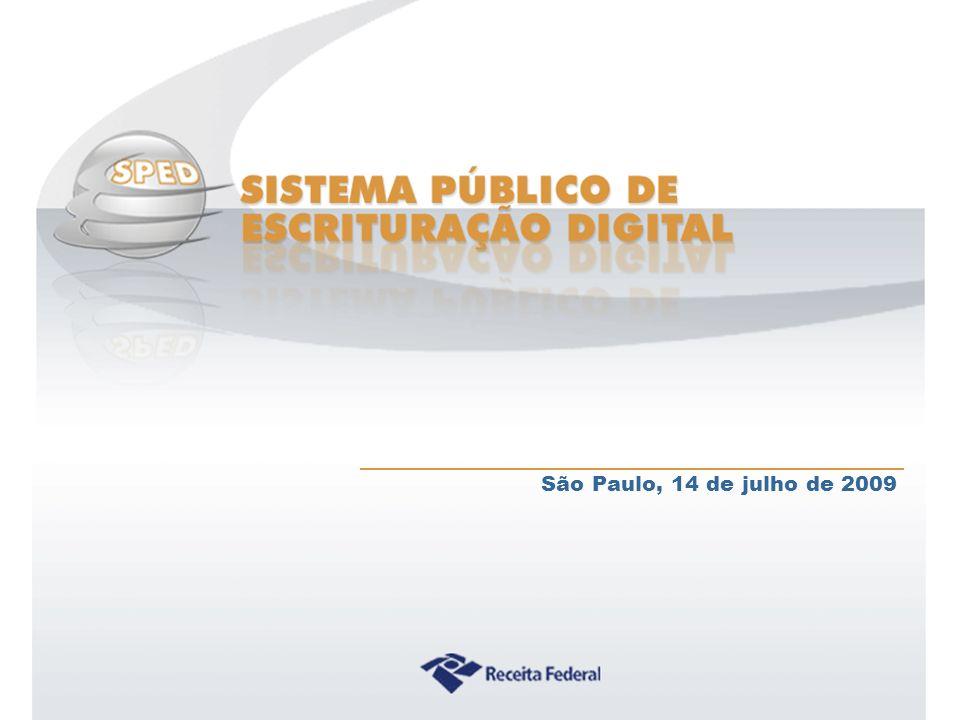 São Paulo, 14 de julho de 2009 CRCSC => Presidente: Sérgio Faraco