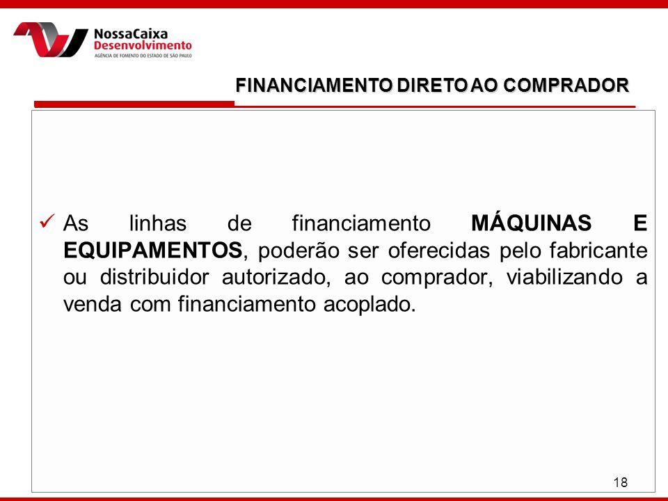FINANCIAMENTO DIRETO AO COMPRADOR