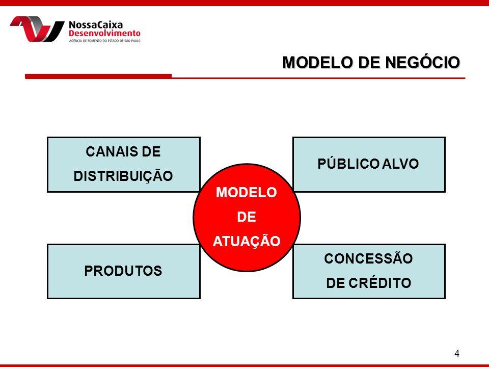 MODELO DE NEGÓCIO CANAIS DE PÚBLICO ALVO DISTRIBUIÇÃO MODELO DE