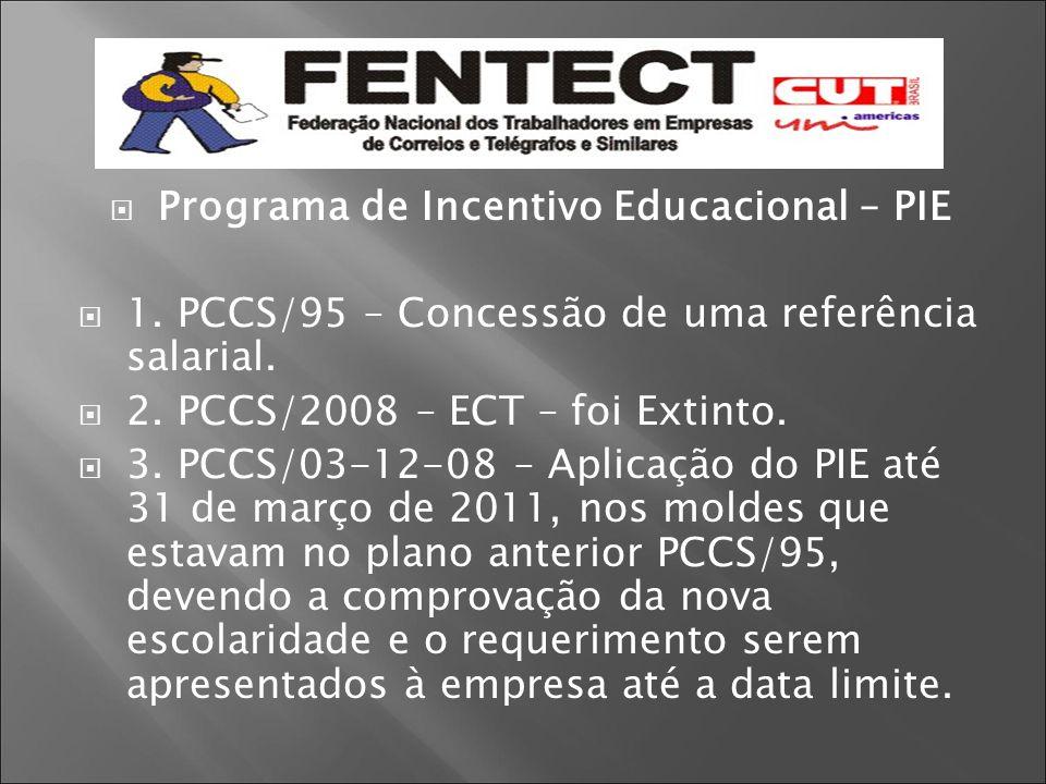 Programa de Incentivo Educacional – PIE