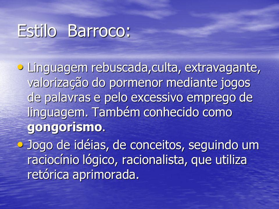 Estilo Barroco: