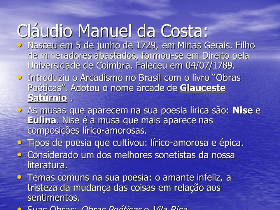 Cláudio Manuel da Costa: