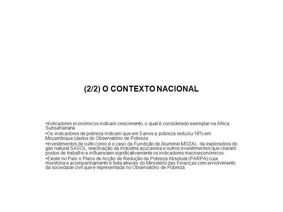 (2/2) O CONTEXTO NACIONAL