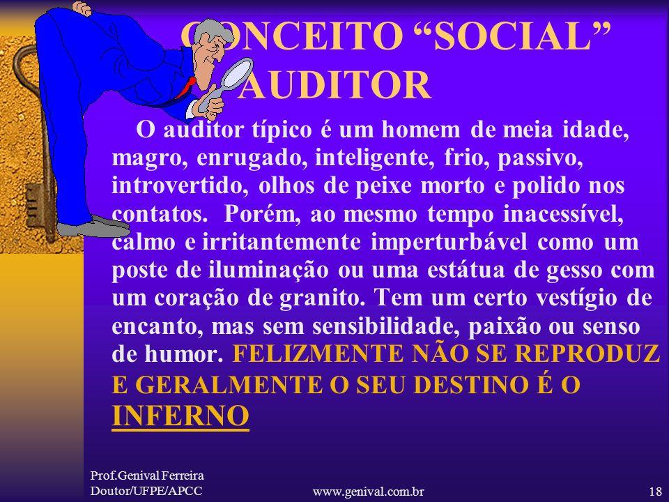 CONCEITO SOCIAL AUDITOR