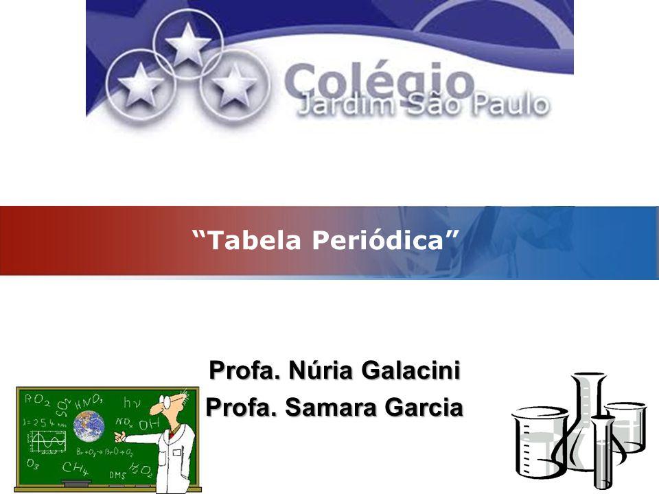 Profa. Núria Galacini Profa. Samara Garcia