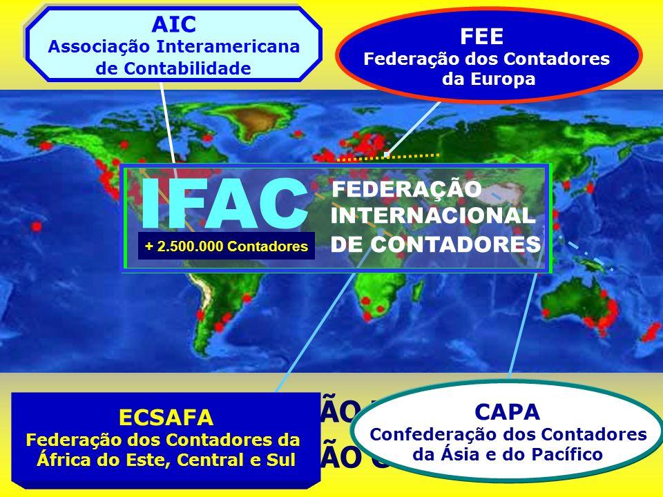 IFAC 0RGANIZAÇÃO MUNDIAL DA PROFISSÃO CONTÁBIL AIC FEE FEDERAÇÃO