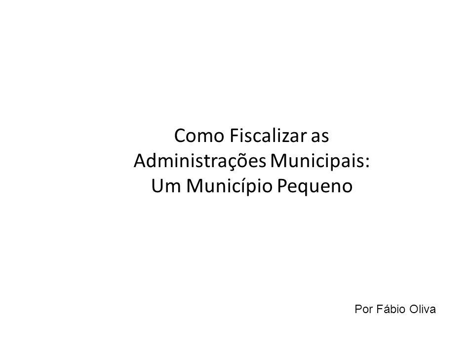 Administrações Municipais: