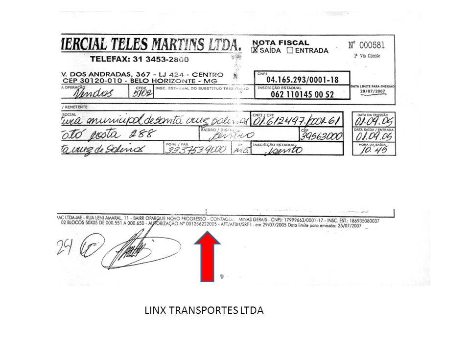 LINX TRANSPORTES LTDA