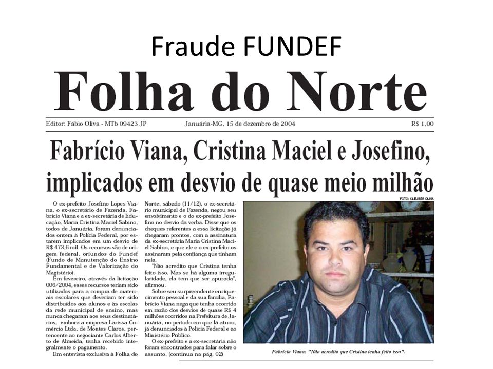 Fraude FUNDEF