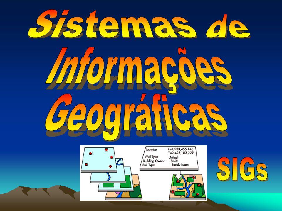 Sistemas de Informações Geográficas SIGs
