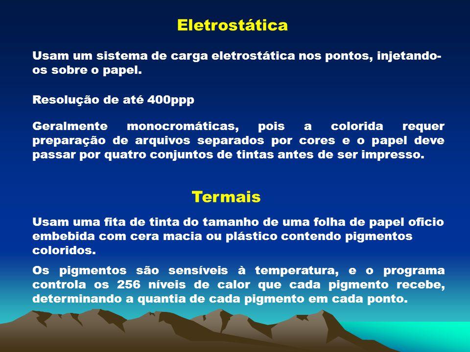 Eletrostática Termais