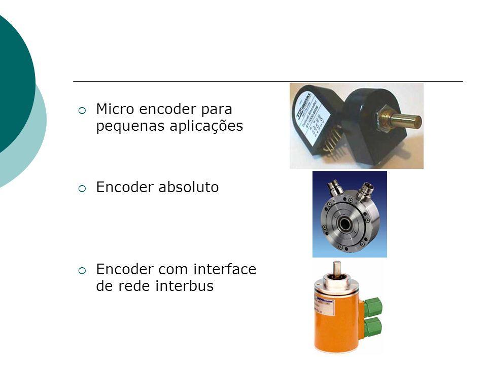 Micro encoder para pequenas aplicações
