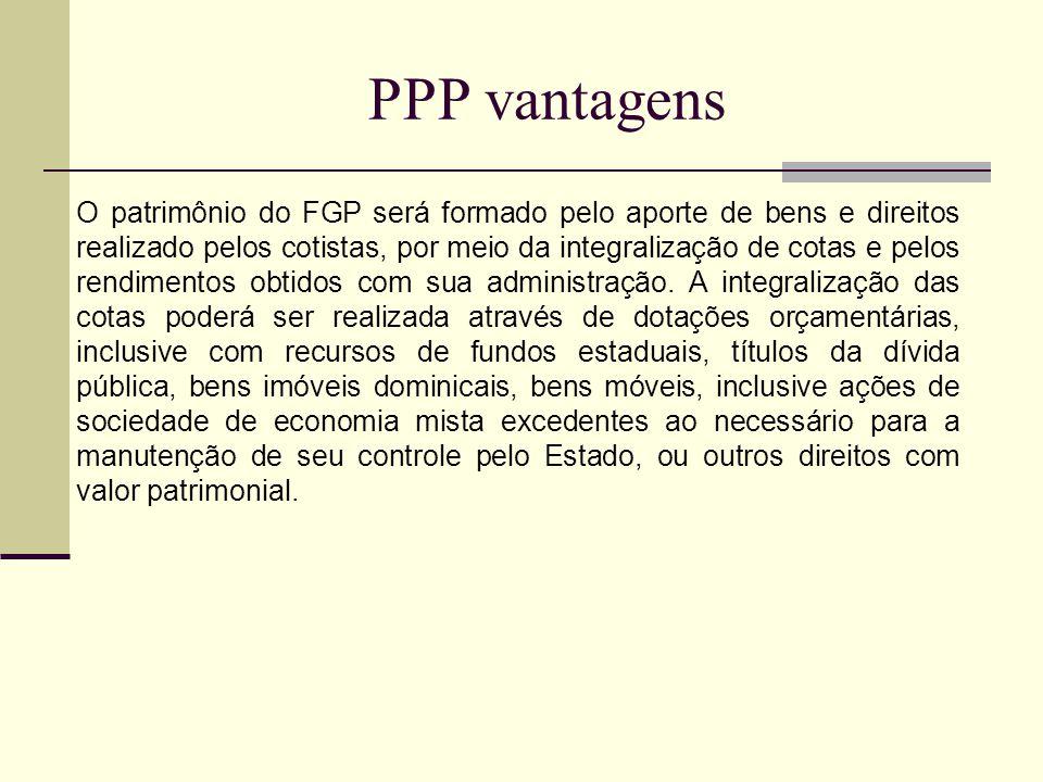 PPP vantagens