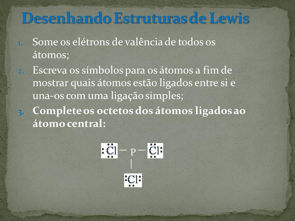 Desenhando Estruturas de Lewis