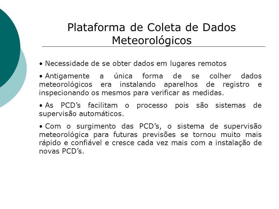 Plataforma de Coleta de Dados Meteorológicos