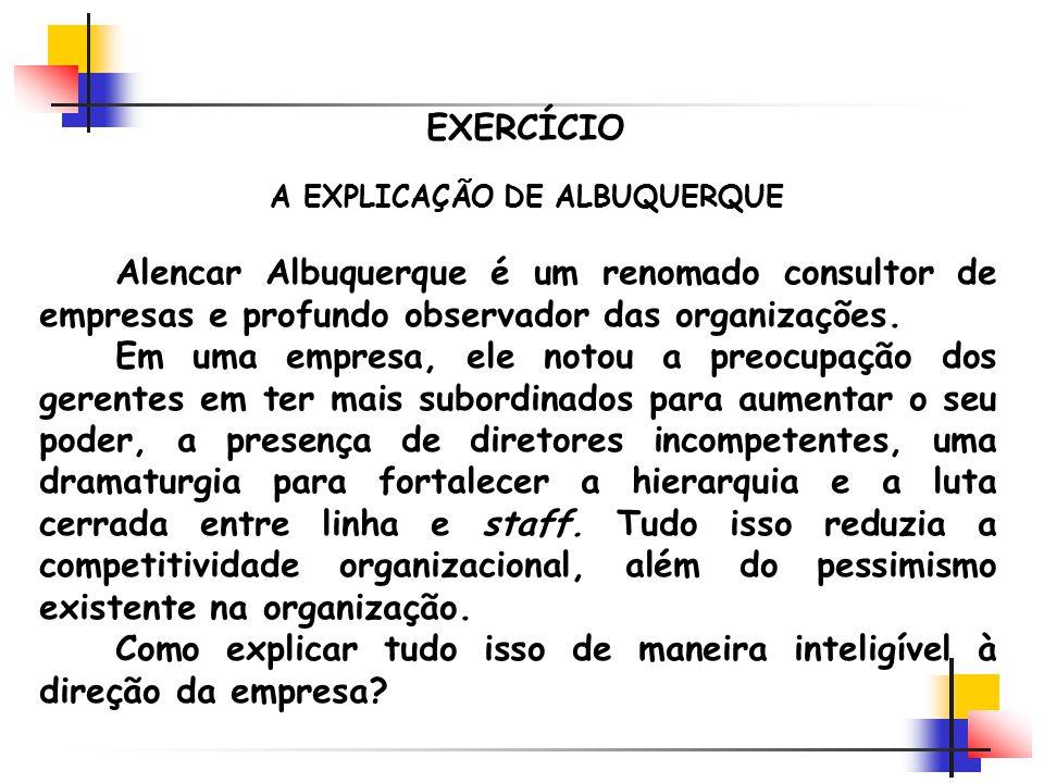A EXPLICAÇÃO DE ALBUQUERQUE