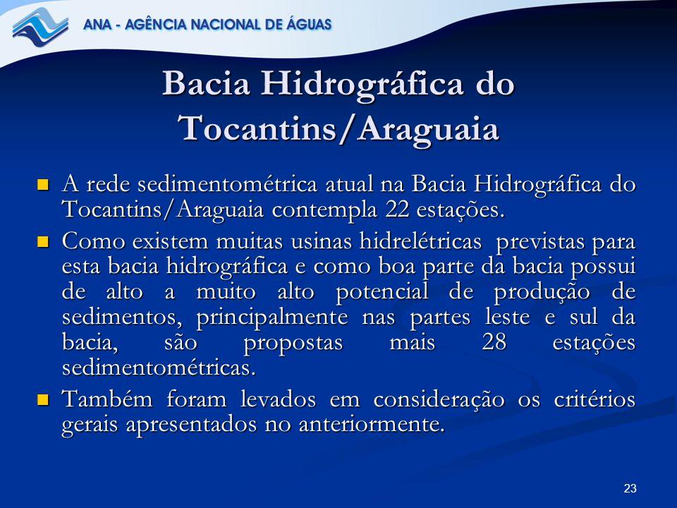 Bacia Hidrográfica do Tocantins/Araguaia