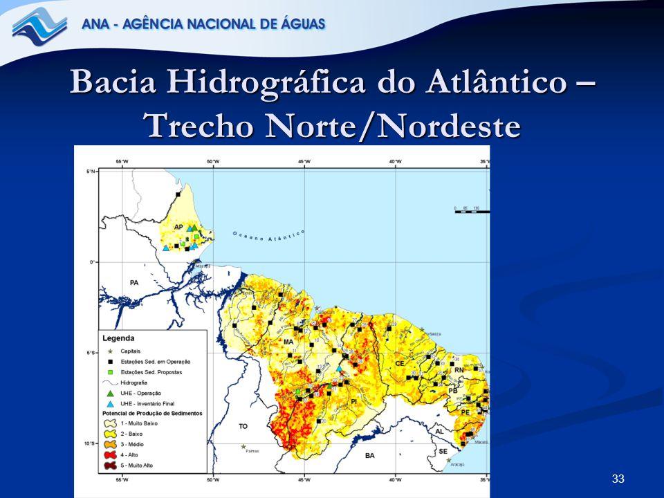 Bacia Hidrográfica do Atlântico – Trecho Norte/Nordeste