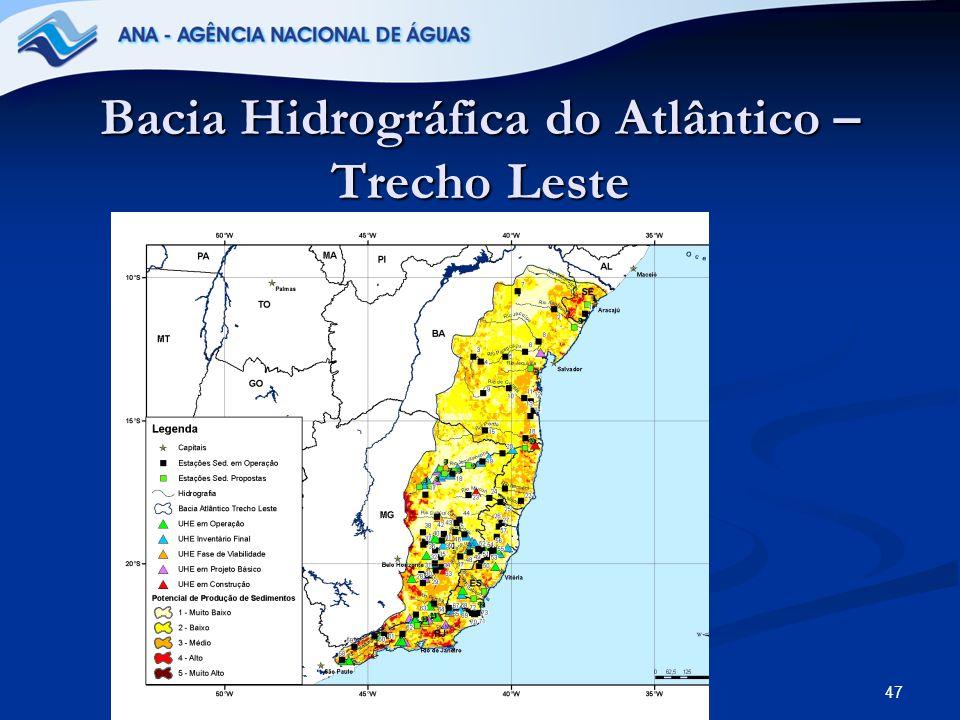 Bacia Hidrográfica do Atlântico – Trecho Leste