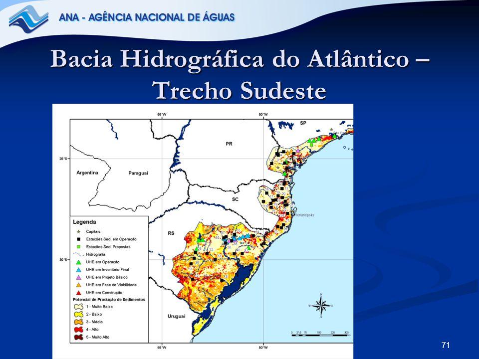Bacia Hidrográfica do Atlântico – Trecho Sudeste