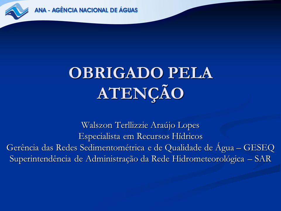 OBRIGADO PELA ATENÇÃO Walszon Terllizzie Araújo Lopes