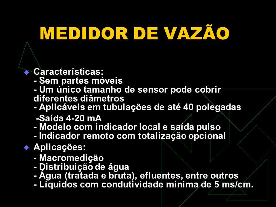 MEDIDOR DE VAZÃO