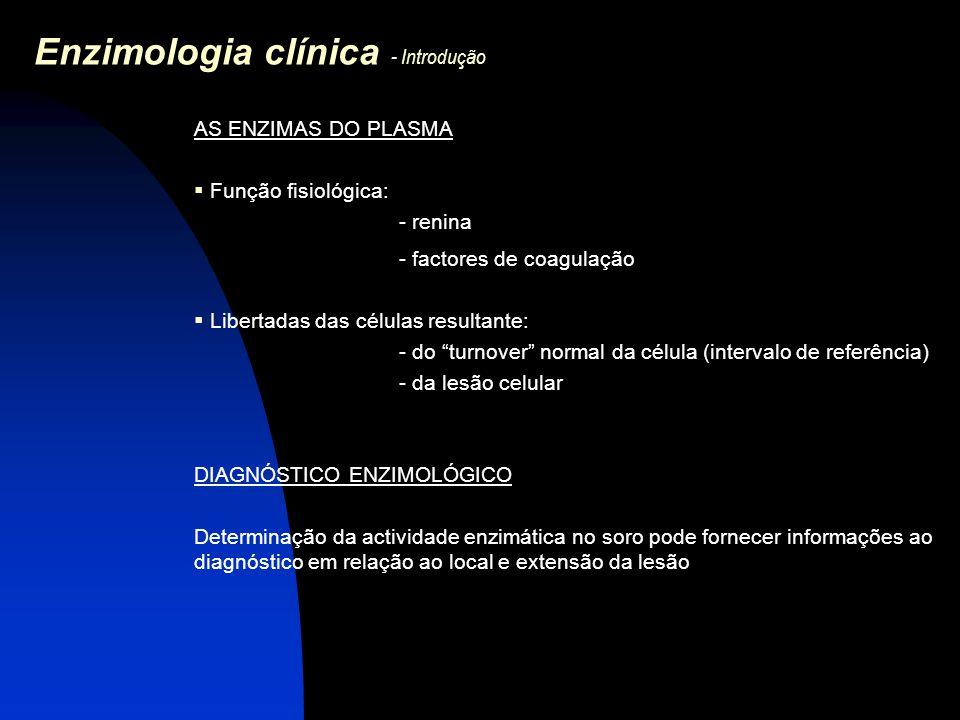 Enzimologia clínica - Introdução