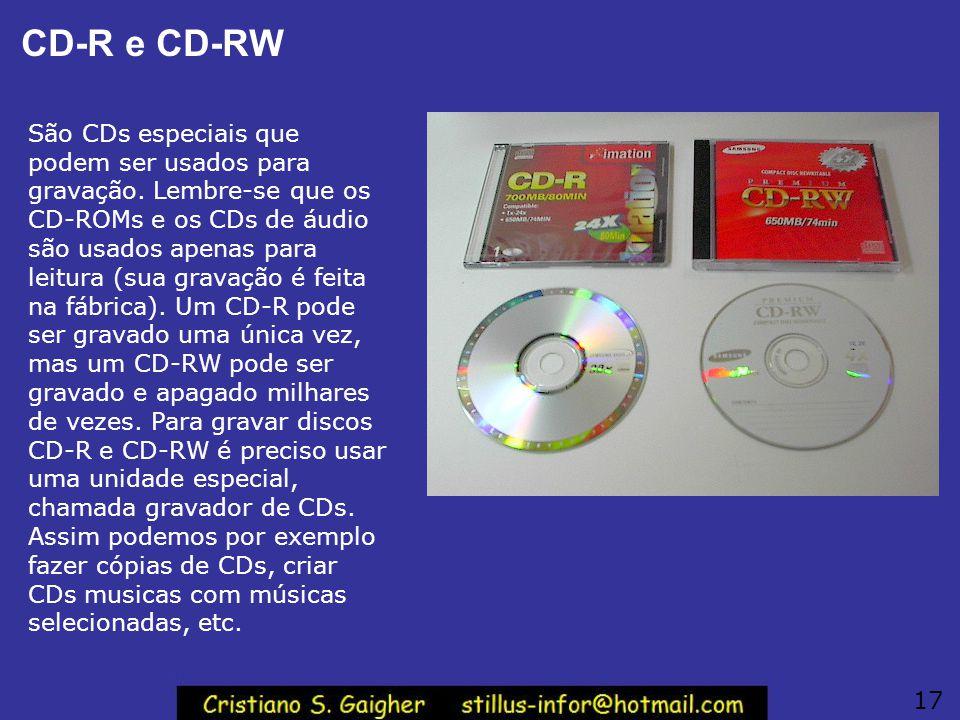CD-R e CD-RW