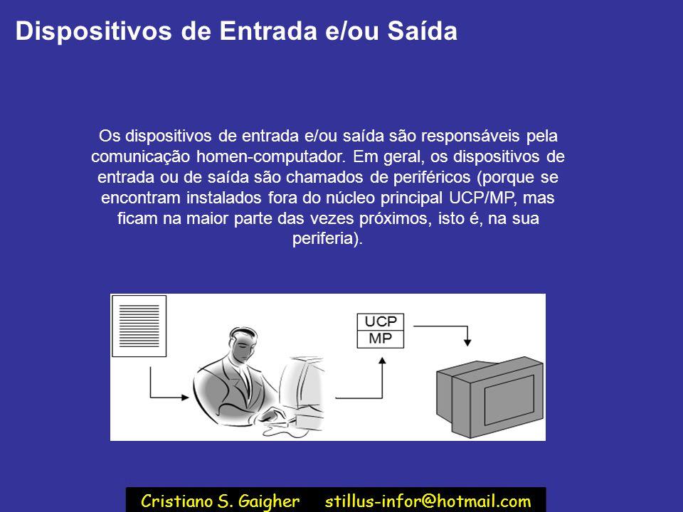 Cristiano S. Gaigher stillus-infor@hotmail.com
