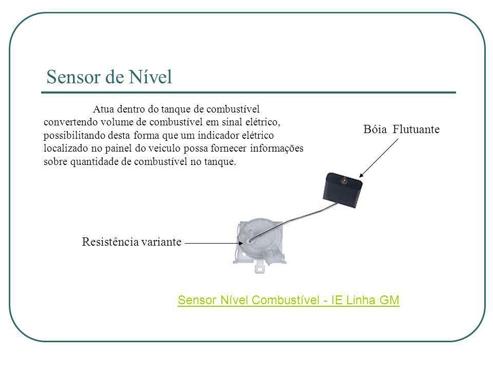 Sensor de Nível Bóia Flutuante Resistência variante