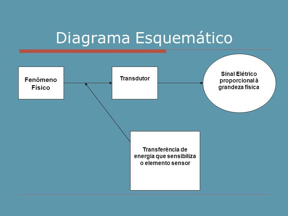 Diagrama Esquemático Fenômeno Físico