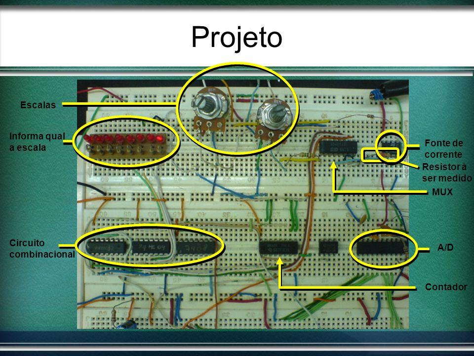 Projeto Escalas Informa qual a escala Fonte de corrente