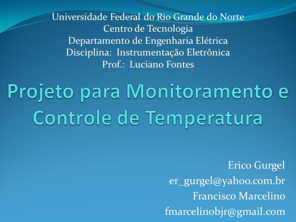 Projeto para Monitoramento e Controle de Temperatura